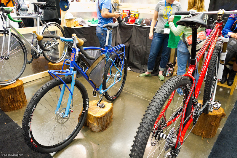 Another bike packing whip offered by Hunter Bikes with a nod to Johnny T s racing style back in the day ala the drop bars.