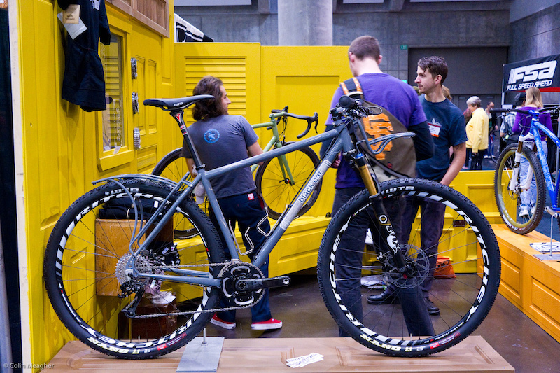 Blackcat hardtail with integrated racks allows a dedicated bike packer enough carrying capacity to get to the zone establish a base camp and then ride for a 3-4 days with a fair degree of comfort.