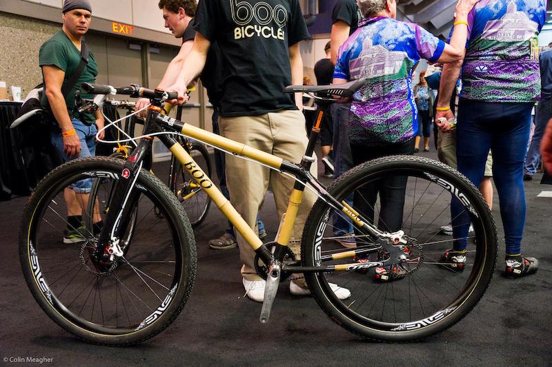 bamboo bike from Boo bikes.