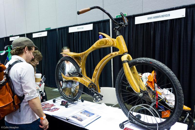 wooden bike from Bekes.