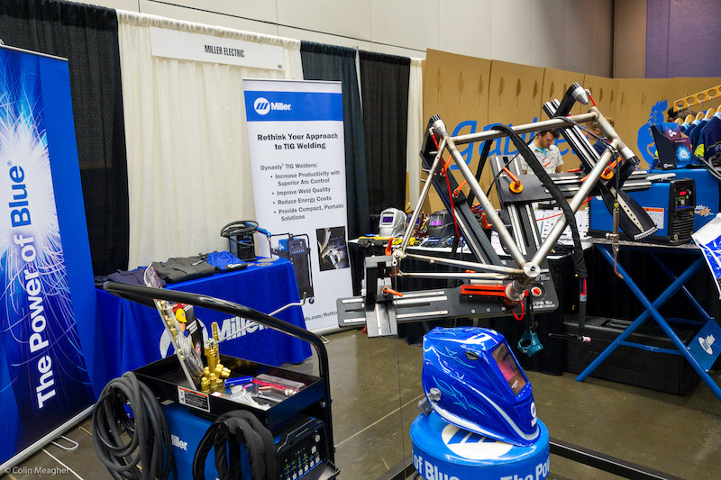 Miller Electric also had welding rigs on display at NAHBS.