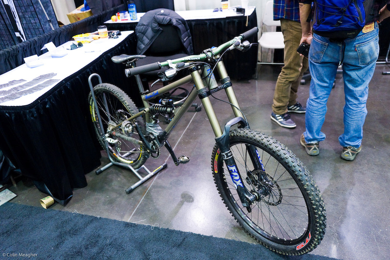 Bicycle Fabrications DH bike.