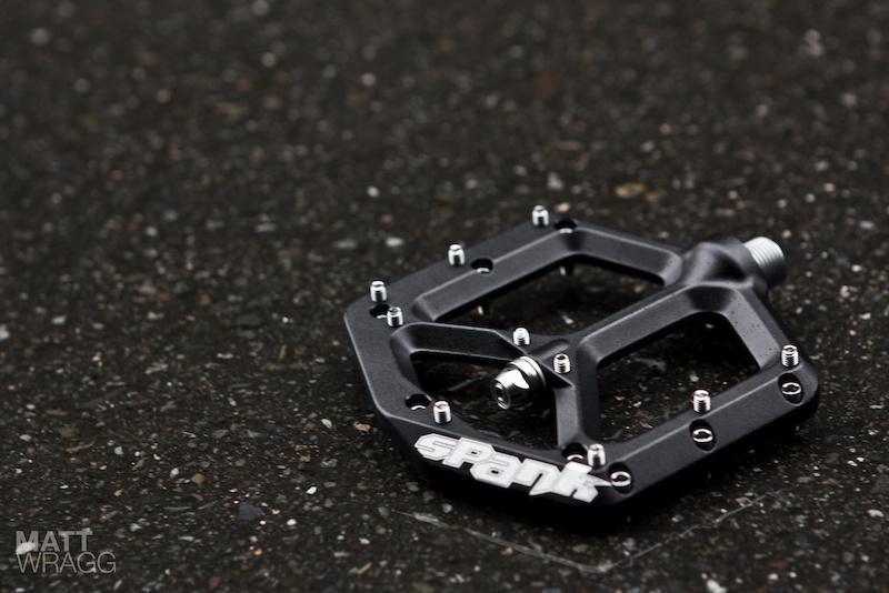 Prototype Spank Spike pedal - Taipei Cycle Show 2012