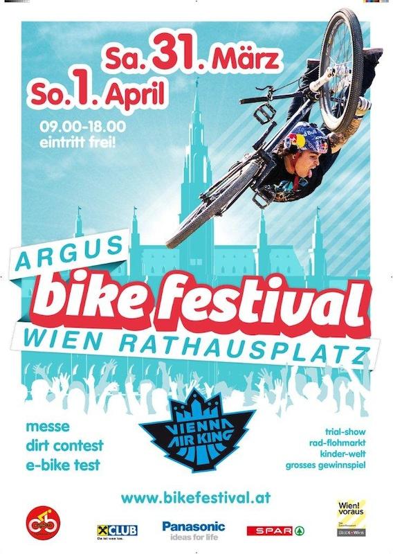 ARGUS BIKE FESTIVAL poster