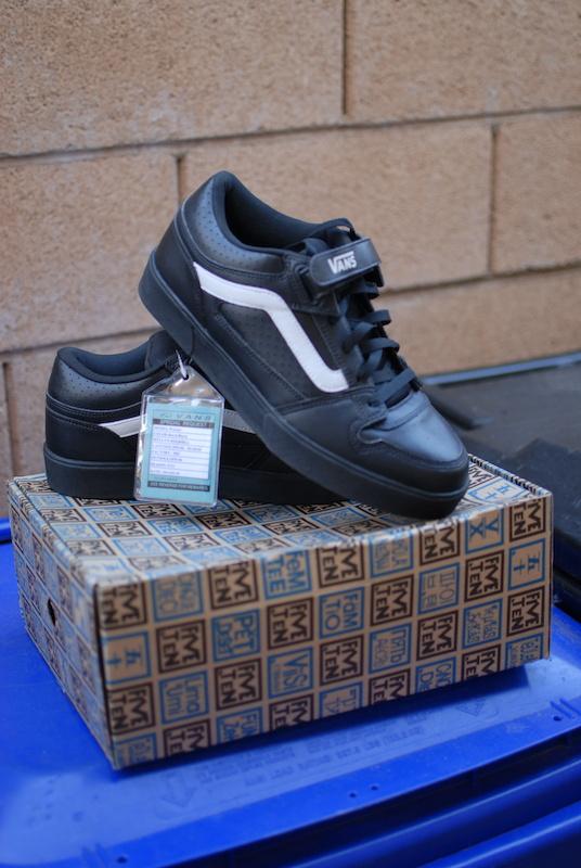 c39b8b3148d006 VANS WARNER SPD SHOES - BLACK US  10.5 For Sale