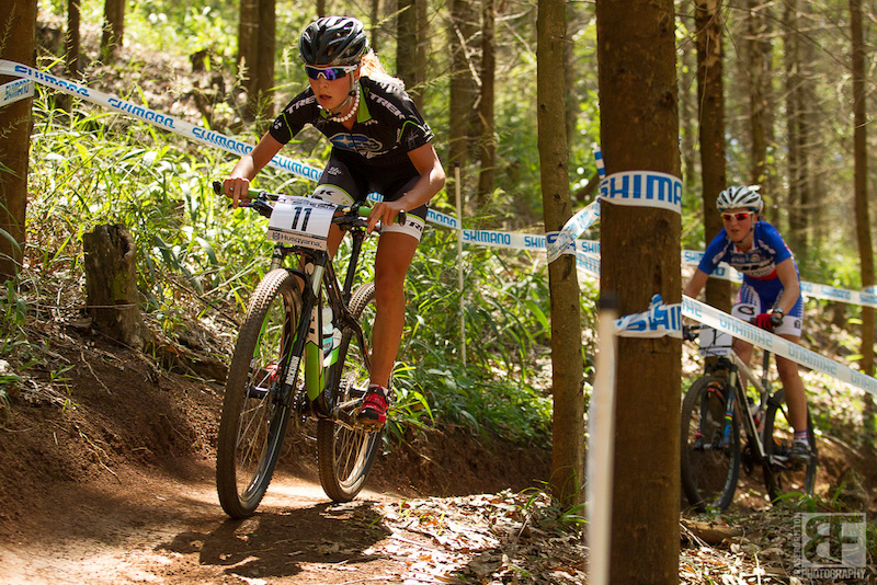 Emily Batty had a World Cup career best second place today in the UCI World Cup Cross Country in Pietermaritzburg ahead of fellow Canadian and World Champion Catherine Pendrel.