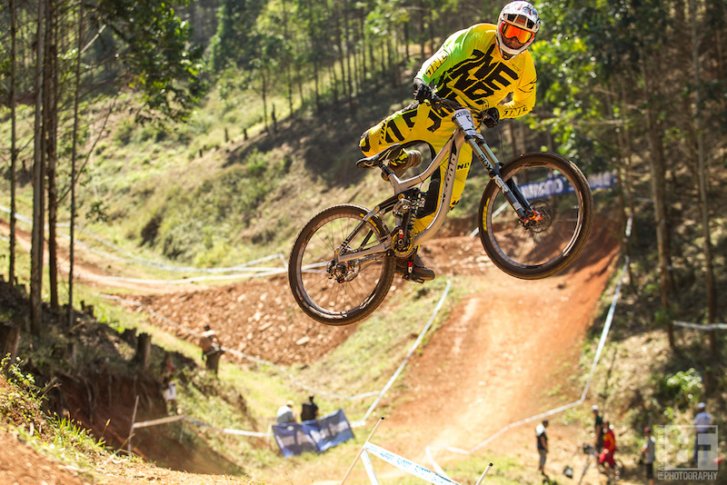 Mitch Delfs at the UCI World Cup in Pietermaritzburg South Africa