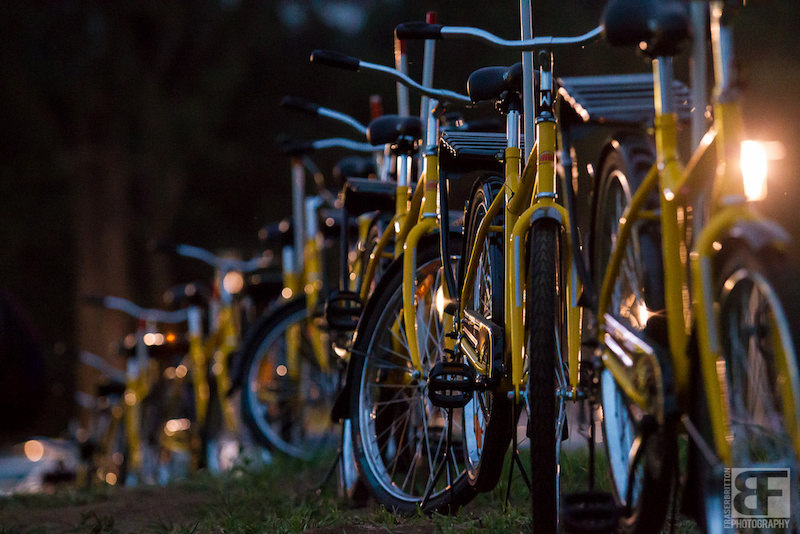 SRAM s World Bicycle Relief donates hundreds of bikes to African villages where they truly make a difference to people s lives. The bridge into the venue here is lined with these bikes make an effort. give back. Powered by WBR.
