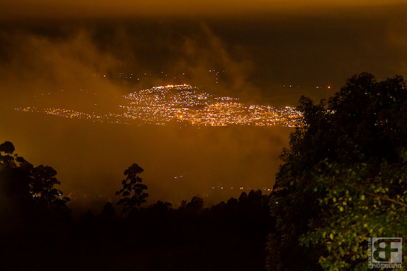 The rains have stopped and the city lights of Maritzburg are starting to poke through the clouds and fog. Fingers crossed