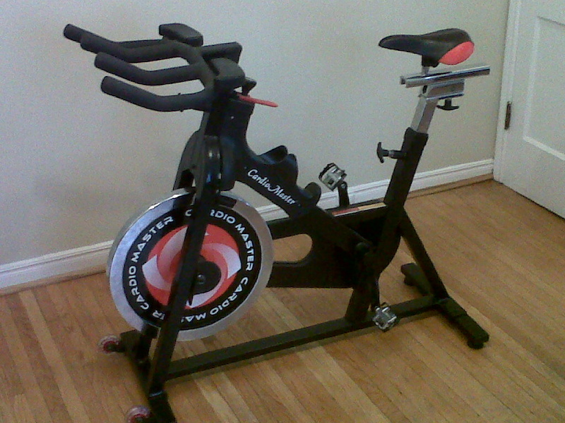 Spin Bikes For Sale >> Cardio Master Spin bike For Sale