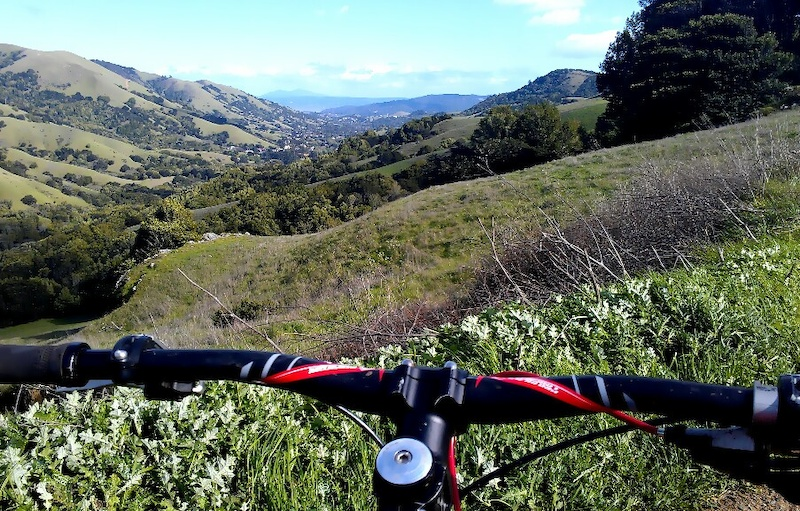 looking down into lucas valley