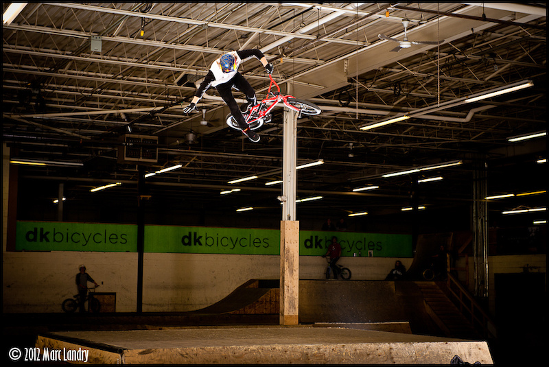 Drew Bezanson one handed, one footed 360 table