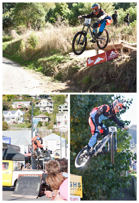 The first Urban Downhill race in New Zealand