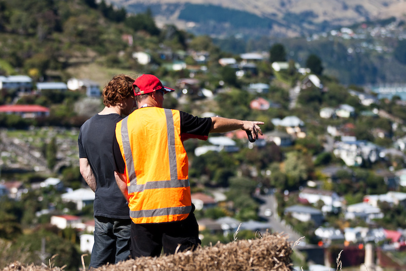 The first Urban Downhill race in New Zealand Shot by Nick Middleton and Kirsty Sheppard http www.endeavourmp.com 2012 Endeavour Media amp Photographics