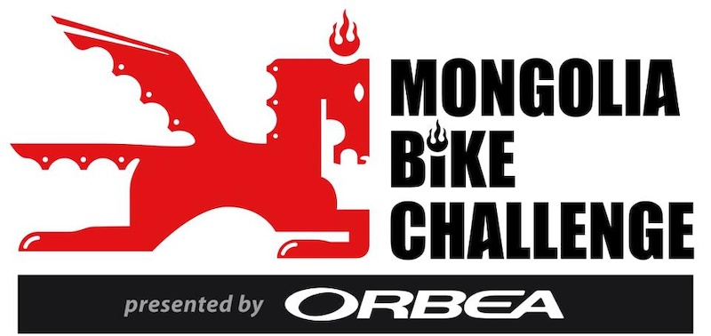 Logo of the Mongolia Bike Challenge presented by Orbea