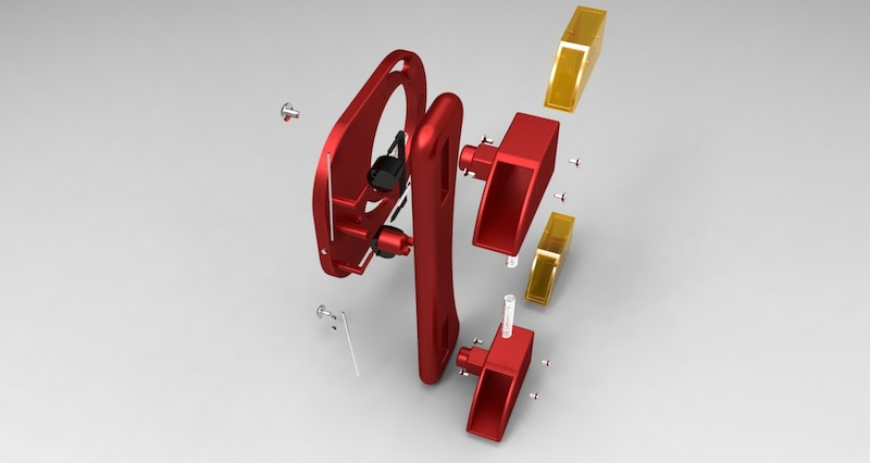 derailleur guide frame design