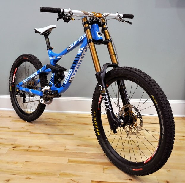 2012 Commencal Supreme Dh V3 2012 Fox 40 Rc2 Fit