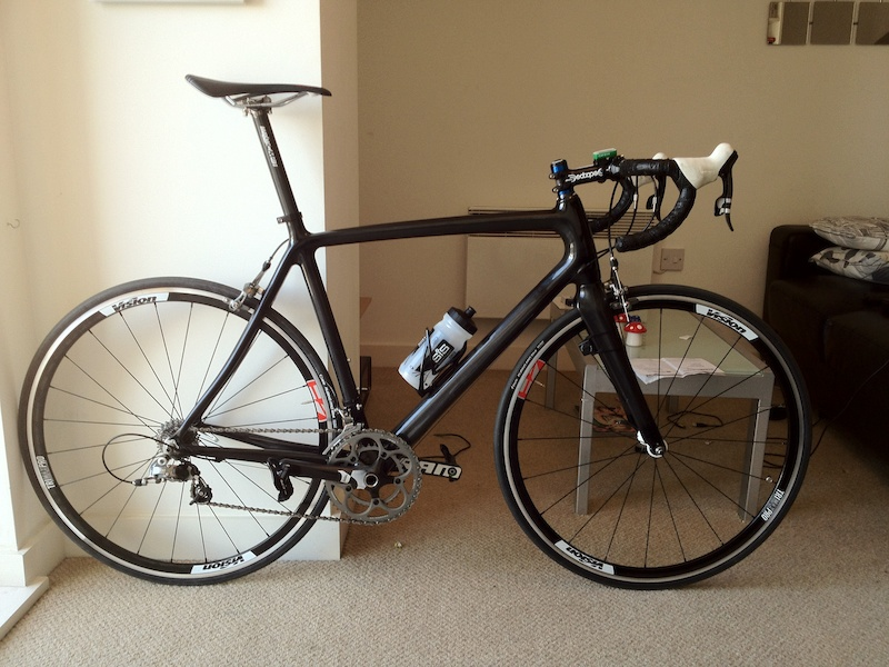 Not much change just a carbon seat post bring total pictured weight below the 7.5kg target