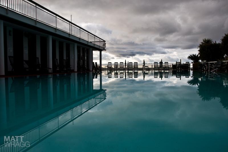 That pool again. Superenduro PRO1 2012 Golfo Diano Marino.