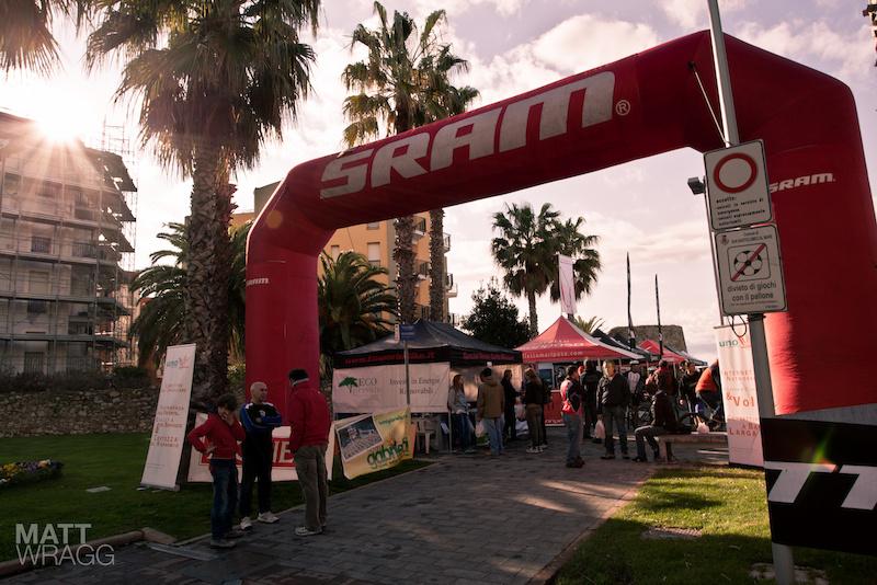 Yes the sun Superenduro PRO1 2012 Golfo Diano Marino.