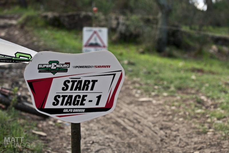 It all starts here. Superenduro PRO1 2012 Golfo Diano Marino.