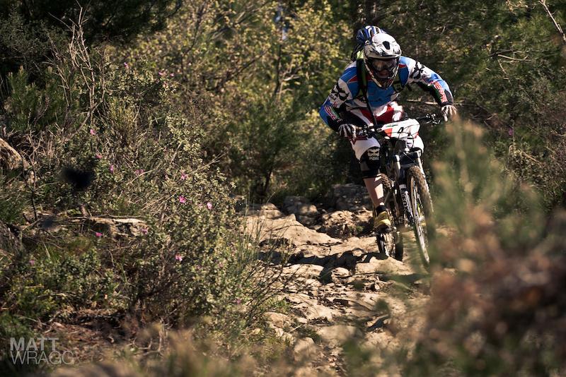 Determined. Superenduro PRO1 2012 Golfo Diano Marino.