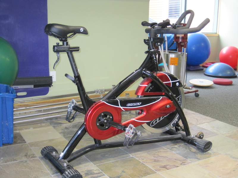 giant tempo spin bike for sale. Black Bedroom Furniture Sets. Home Design Ideas