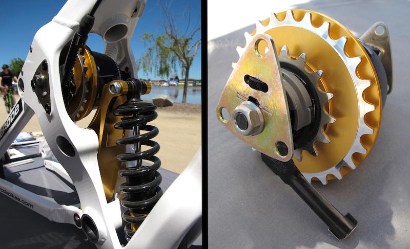 Zerode G-1 suspension detail