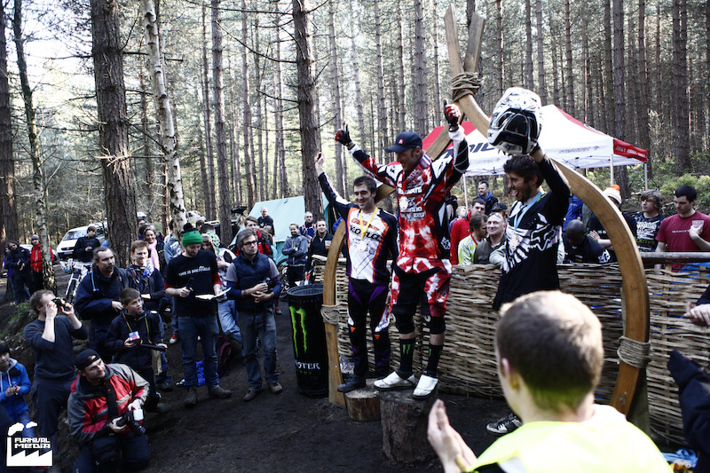 Pro category podium