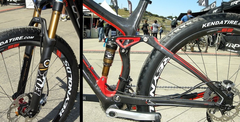Edict Nine fork and FAST rear suspension