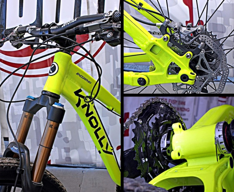 Knolly Endorphin frame details