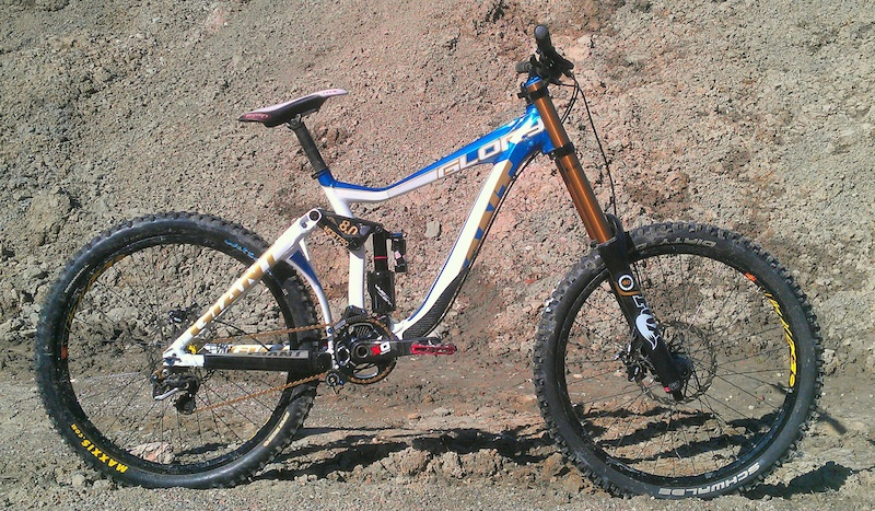 New bike 2012