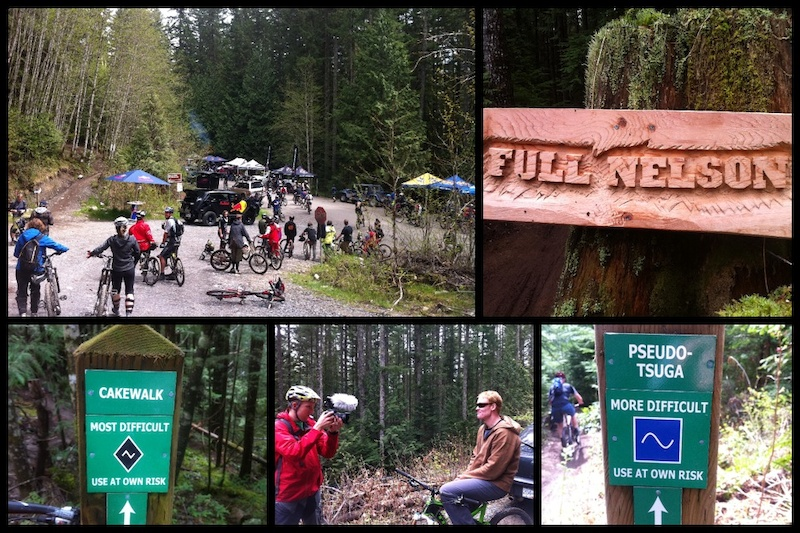 Full Nelson in Squamish