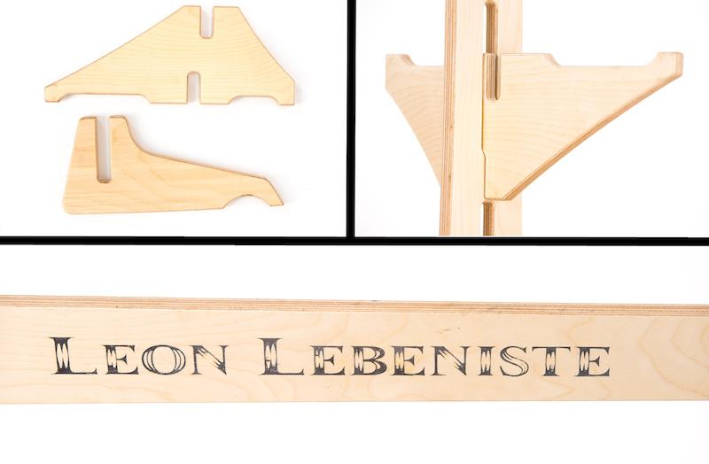 Leon Lebeniste rack