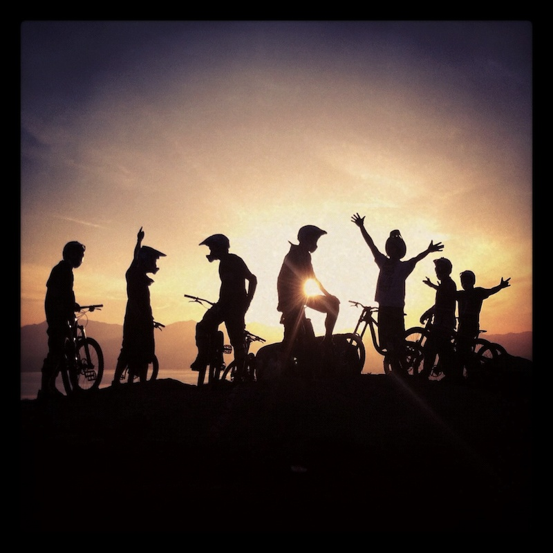 Nothing like doing what makes you happy with friends that make it all possible. Cheers to mountain biking.