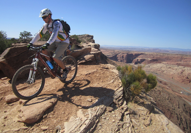 For a story on Pinkbike about riding in Moab