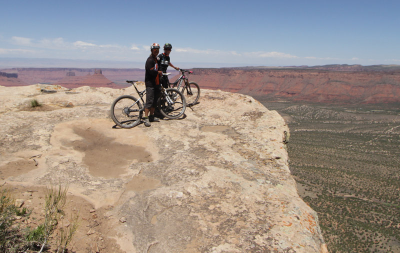 For an article on Pinkbike about riding in Moab