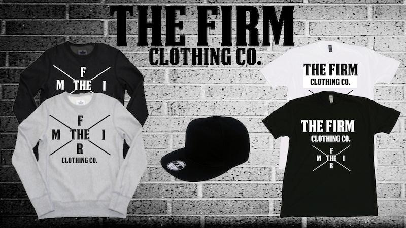 Follow the company on twitter thefirmclothing