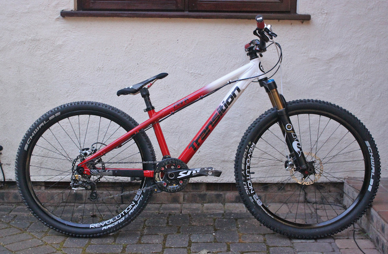 DONE Transition Bank new rubber new 2012 shimano XT brakes