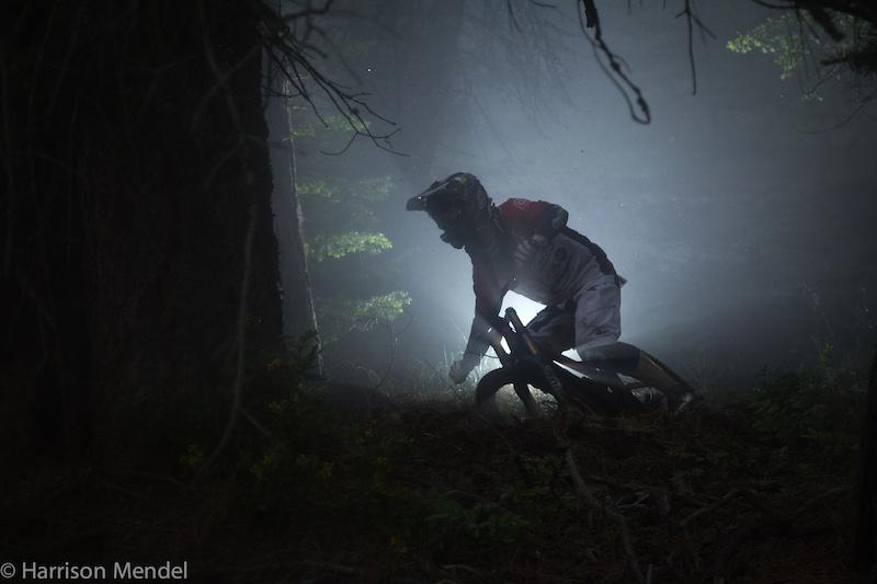 Corner in the Fog