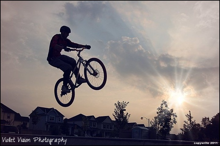 Fly like an eagle...with your bike