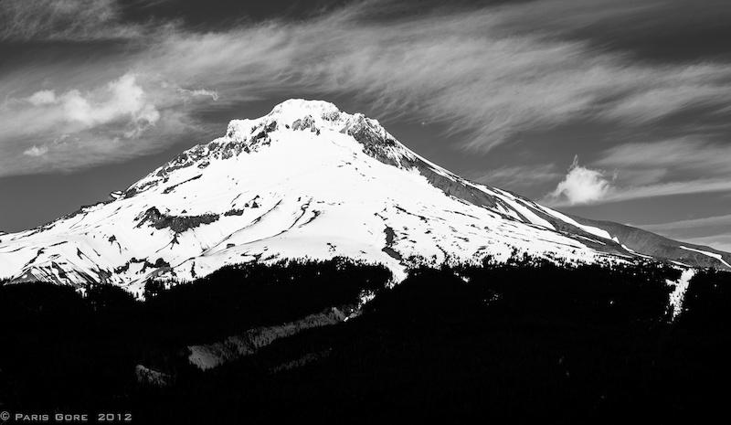 Mt Hood watches over