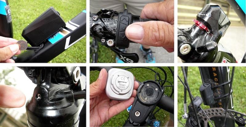 e.i battery mounted on Lapierre Zesty e.i remote control e i speed sensor e.i display removed. Monarch bailout allen screw