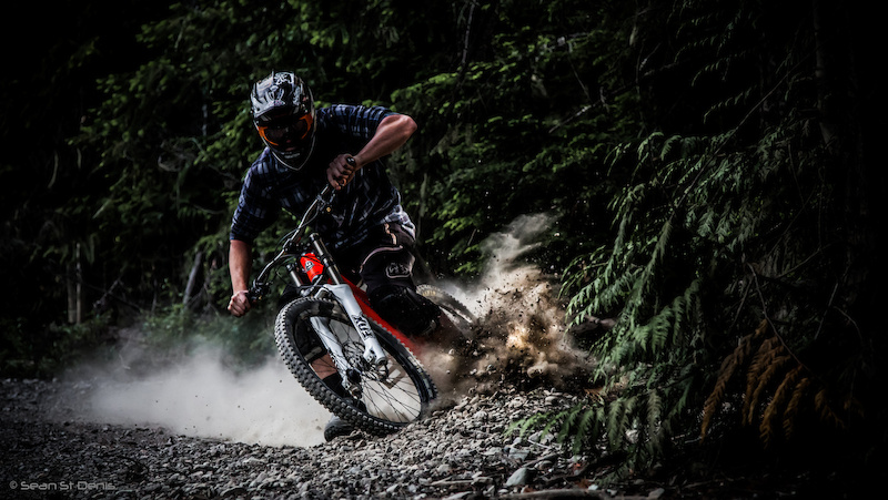 Some after work shots in the Whistler bike park