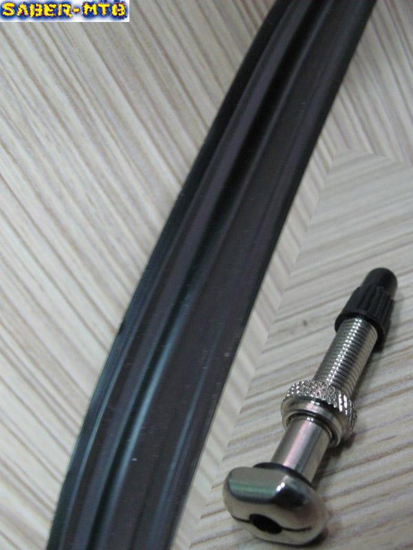 Tubeless ring valve
