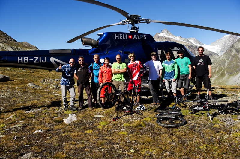 Group in Verbier Swizerland. Photographed in August 2011. Photographed during a film shoot with ANTHILL Films for their upcoming movie Strength In Numbers.