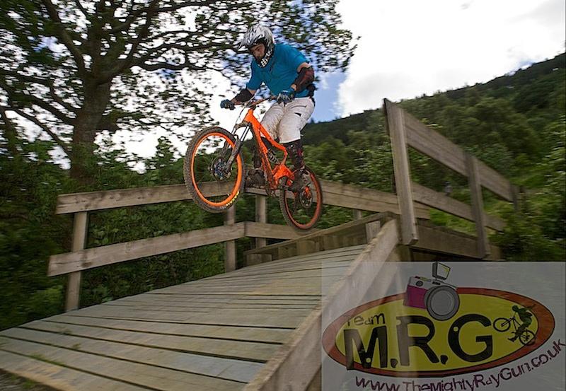 Shredding Cwmcarn 30 06 2012