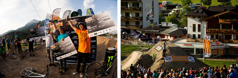Thomas Genon winning his first FMB World Tour Gold event at the 26TRIX fueled by Monster Energy