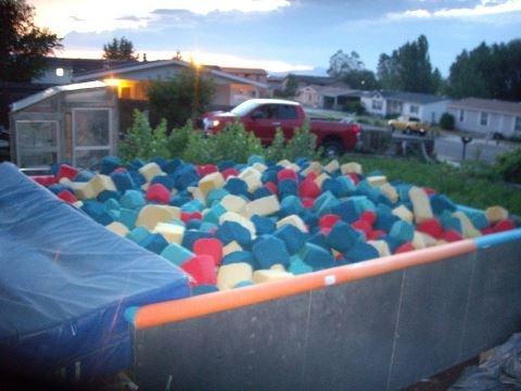 My foam pit