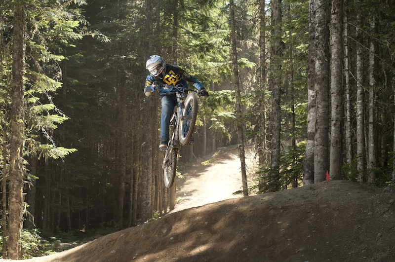 The Whistler Bike Park is home to the Camp of Champions Mountain Bike Camp. With an amazing coach to rider ratio of 1 3 maximum you learn so much in such a short time it will amaze you. At camp you ride from 10AM to 4 30PM in the bike park and then from 6-10 in The Compound. Ride the best bikes in the world from 11 different brands and get coached by top pros like Justin Wyper Brendan Howey Jack Fogelquist Mitch Chubey Paul Genovese Jarrett Moore Reece Wallace Wink Grant Beth Parsons Brett Tippie and many more ... This is where you want to be riding this summer